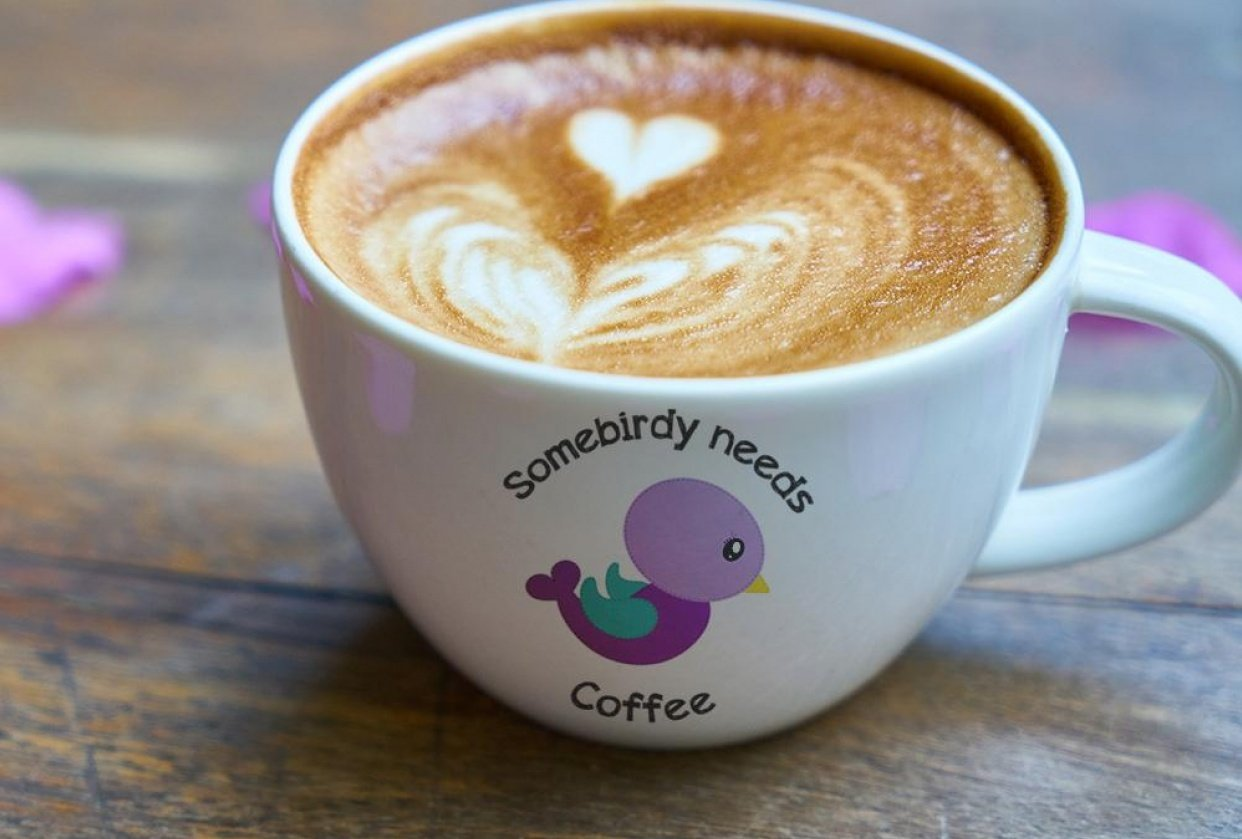 Somebirdy needs coffee - student project