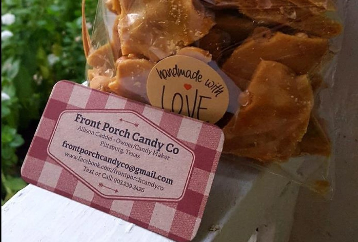 Front Porch Candy Co - student project