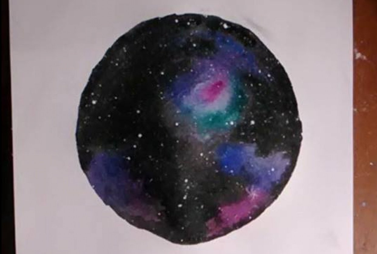 Galaxy Painting - student project