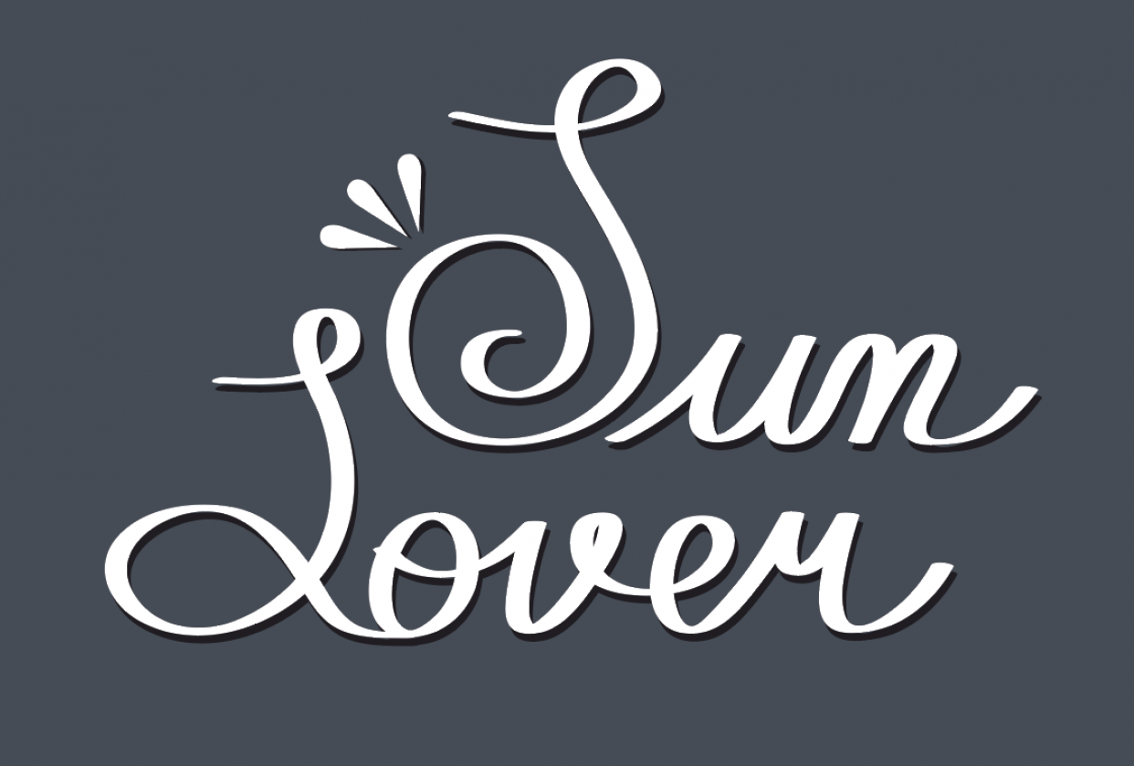 Sun Lover - student project