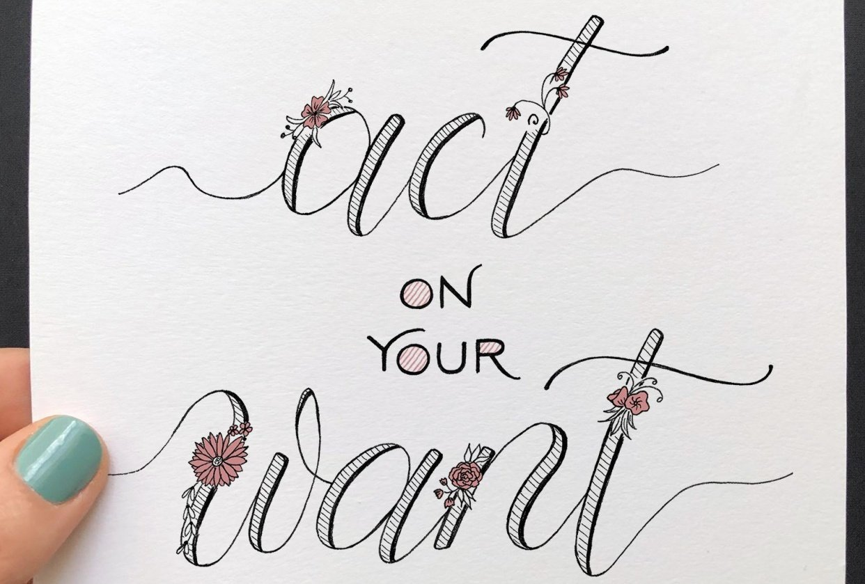 Act on your Want - student project
