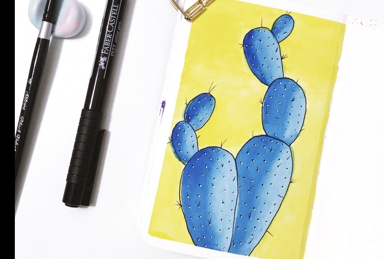 Tiny cactus! - student project