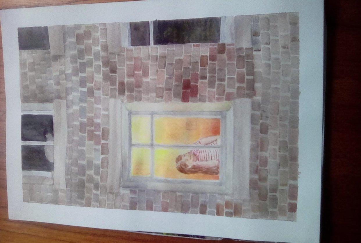 Luminous window - student project