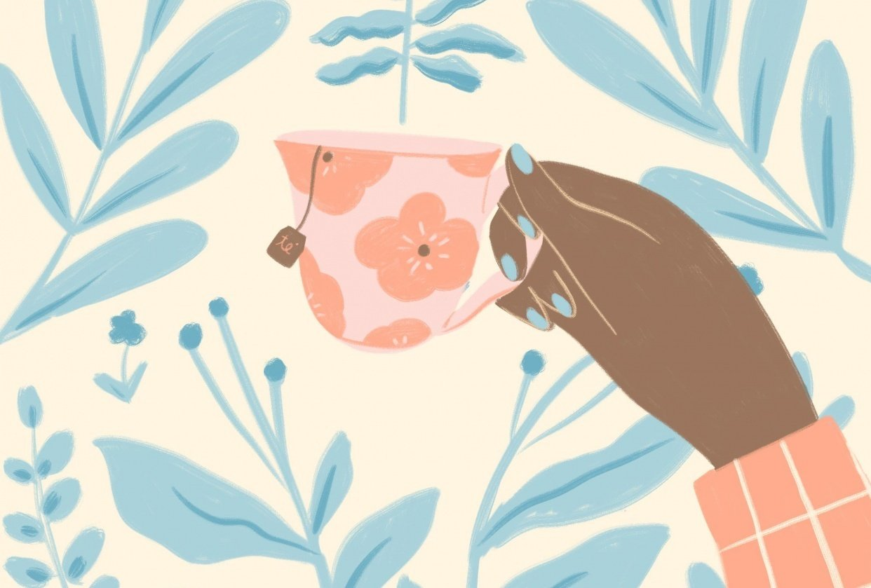 Tea Lover <3 - student project