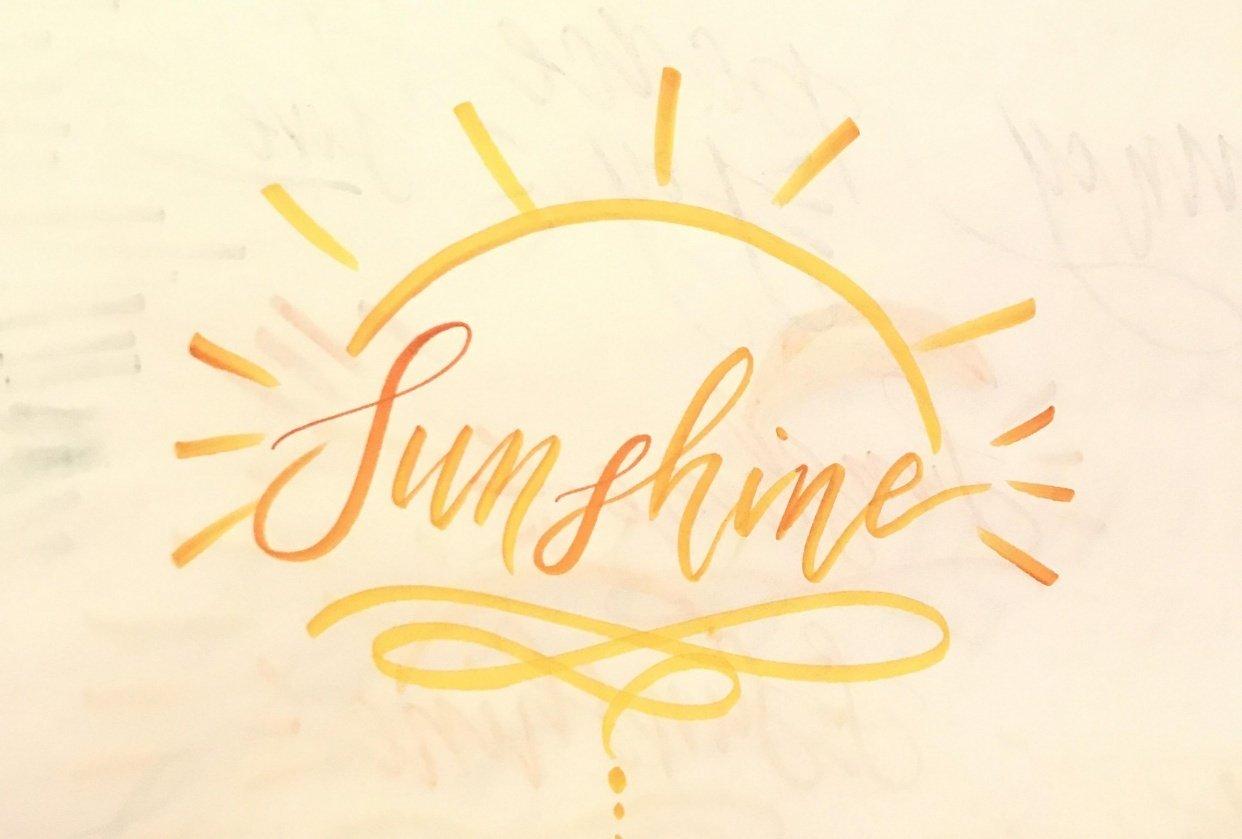 Sunshine - student project