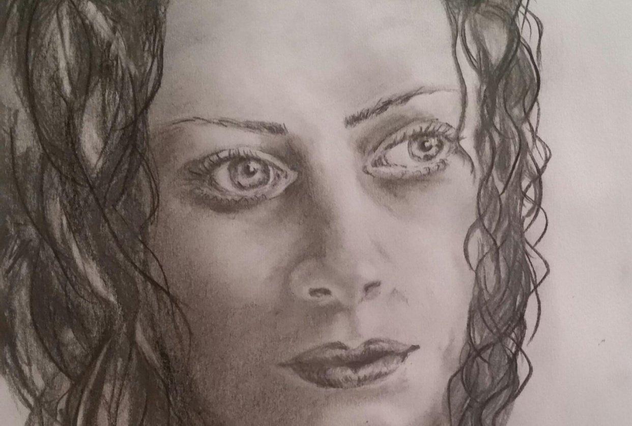 Portrait of a stranger ... - student project