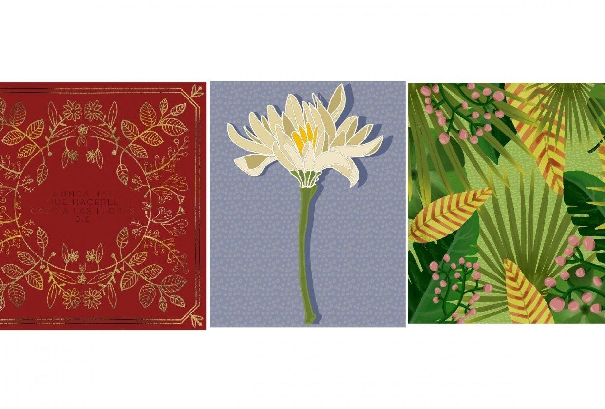 Floral album - student project