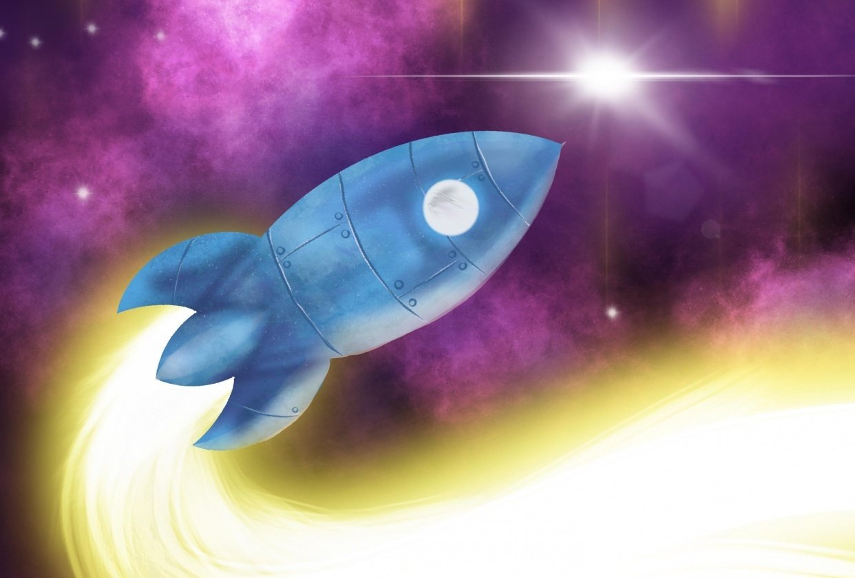 Sarah Whyte's Rocket - student project