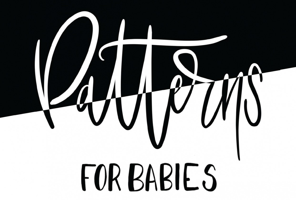 Self Published Book - Patterns Fro Babies - student project