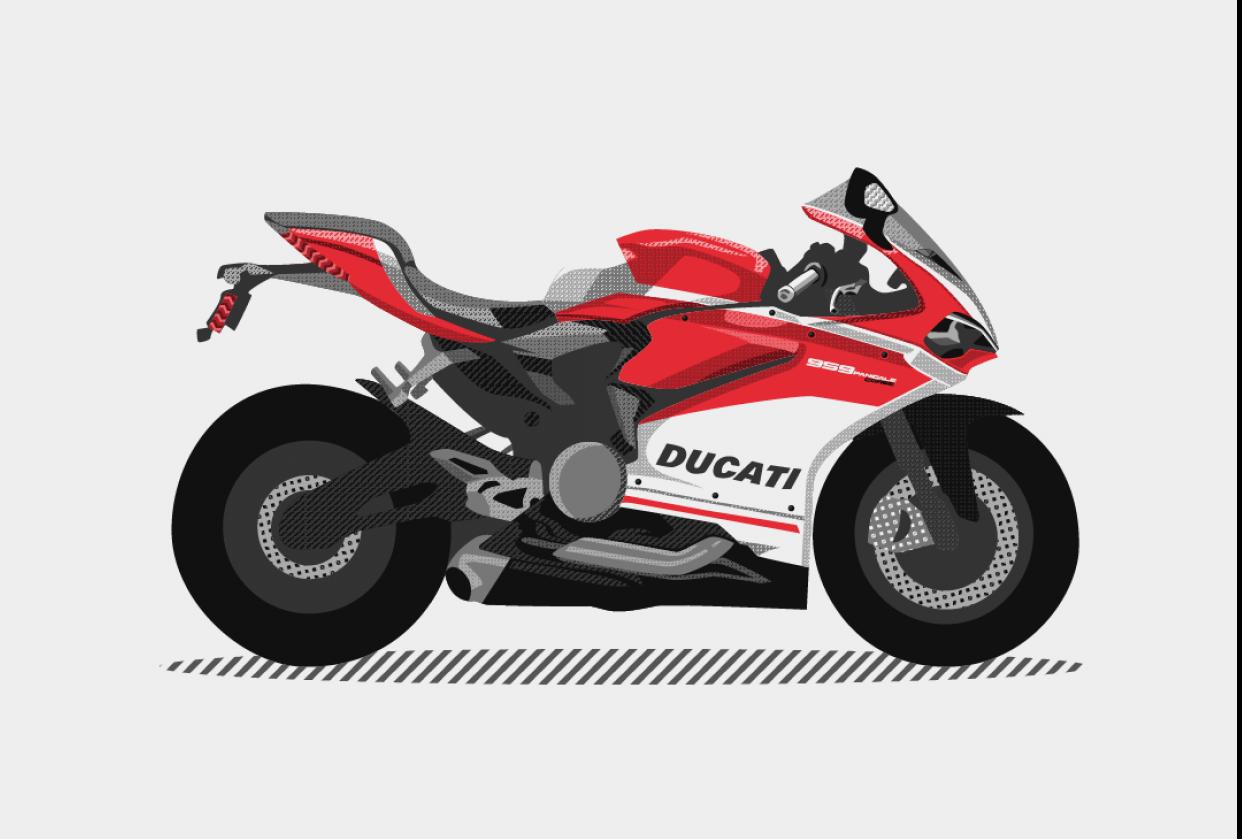 Ducati 959 Panigale Corse - student project