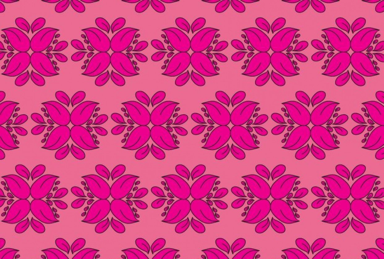 Pink Damask - student project