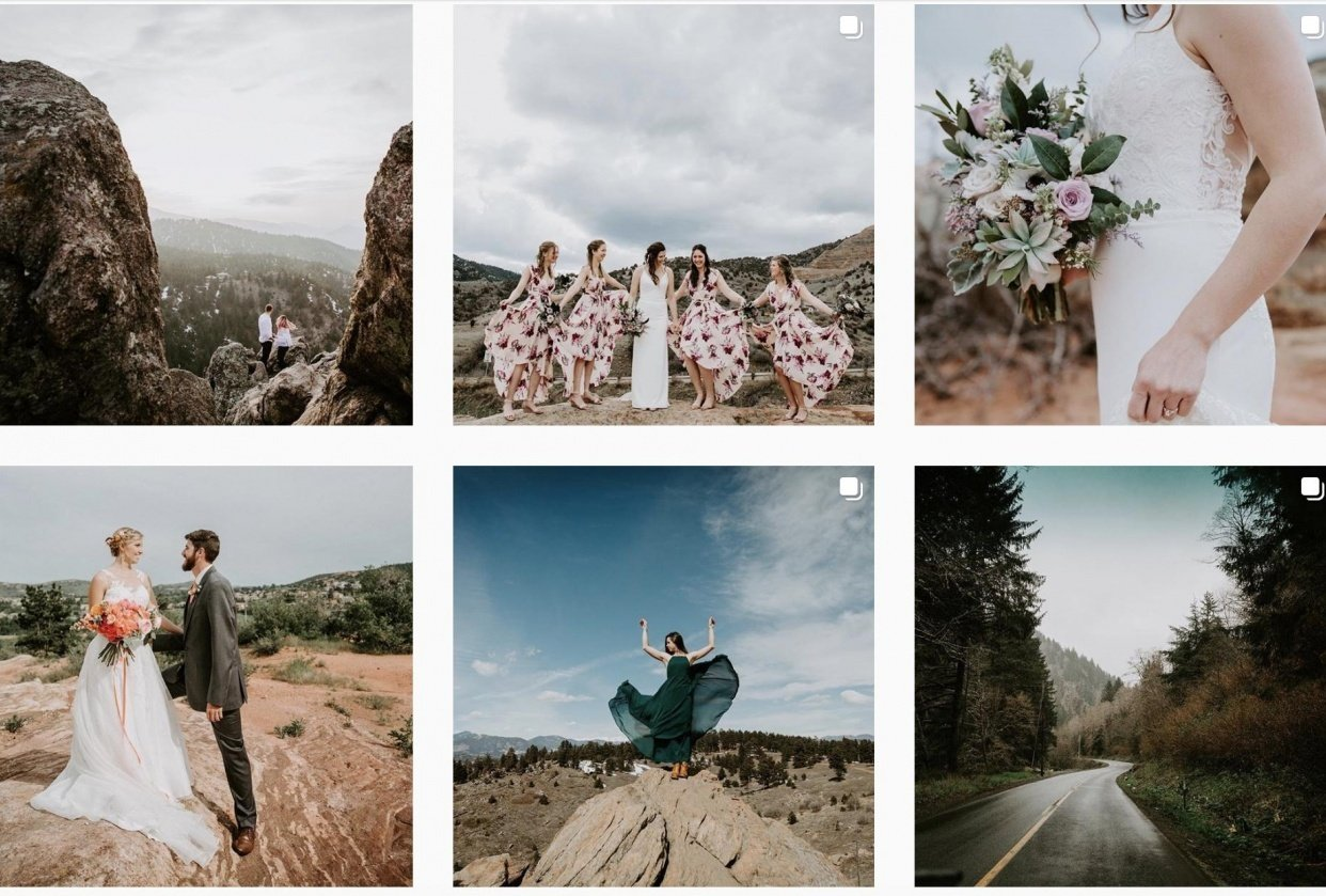 Colorado Wedding + Travel Photographer - student project