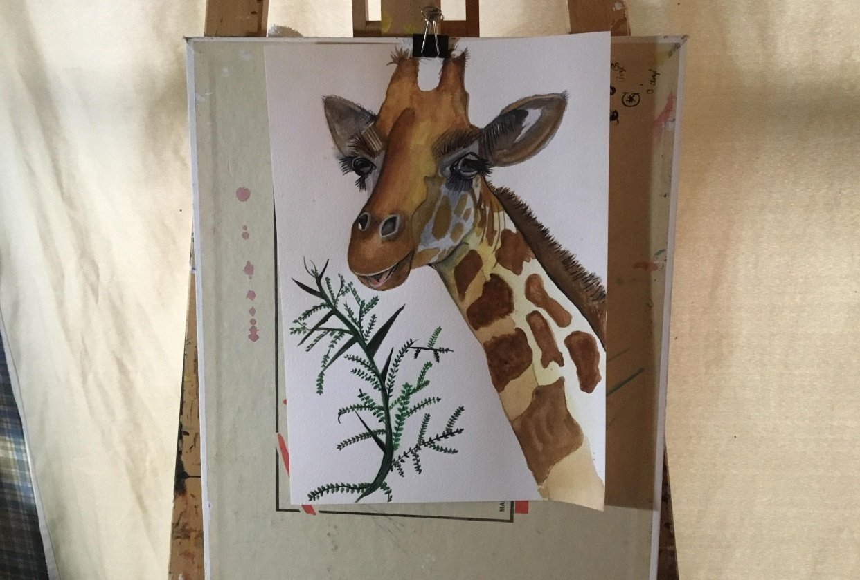 Giraffe oh boy - student project