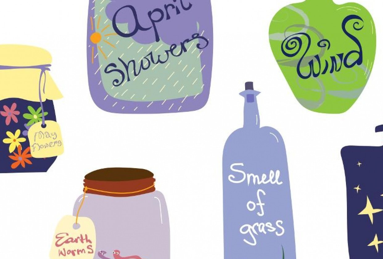 Spring potions/components of spring - student project