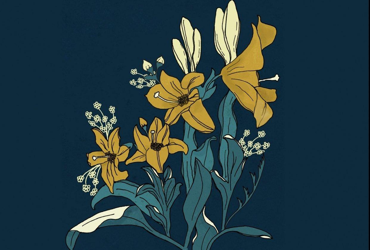 Floral Bouquet - student project