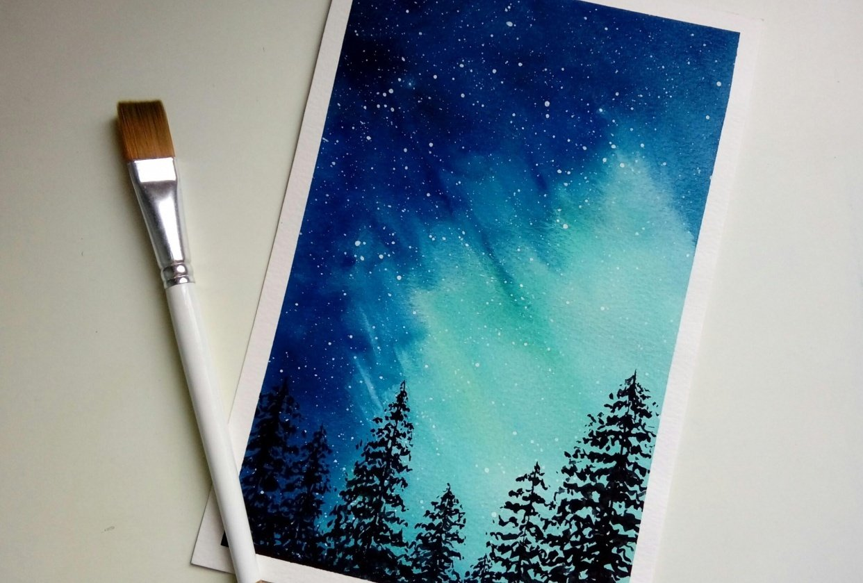Northern Lights - student project