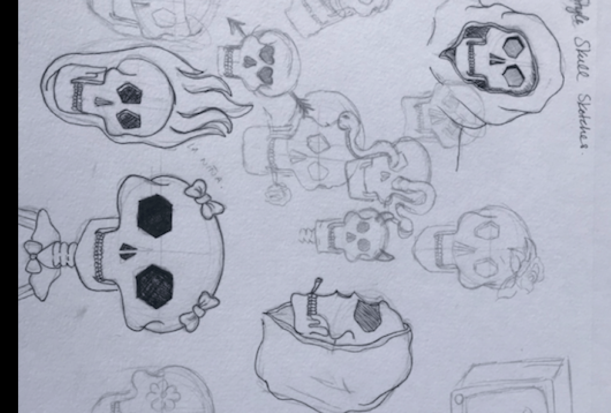 skull project for exercise 1 - student project
