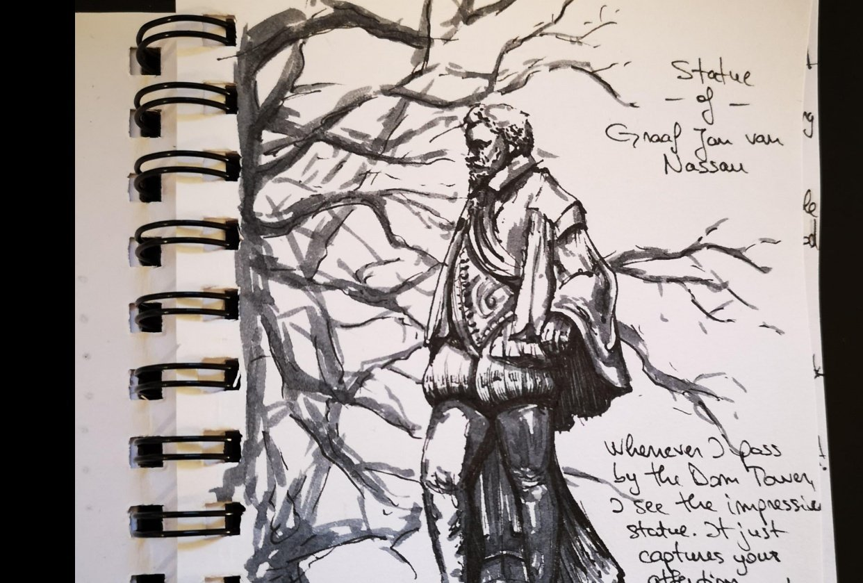 Sketchbook journal - student project
