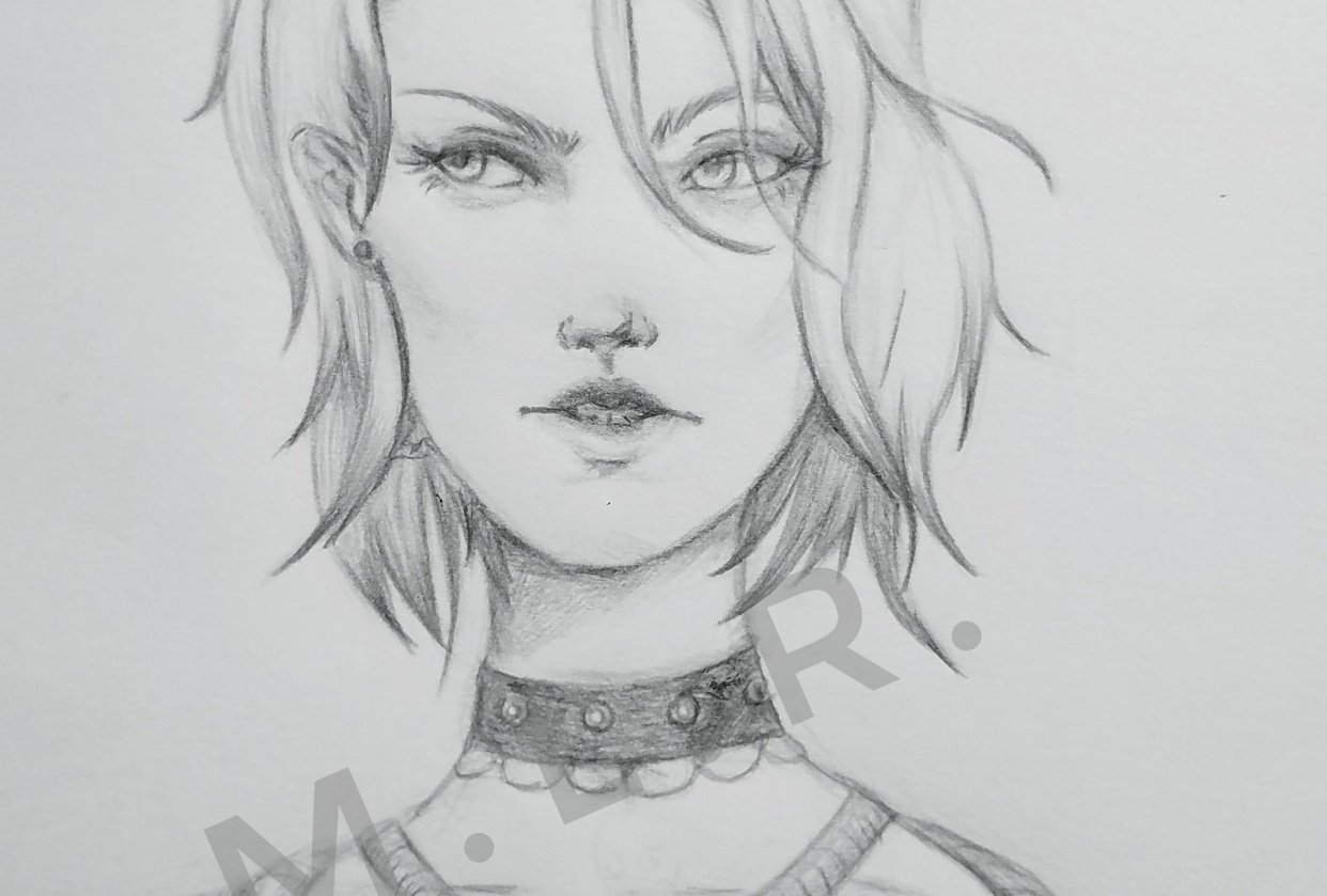 Female Character - student project
