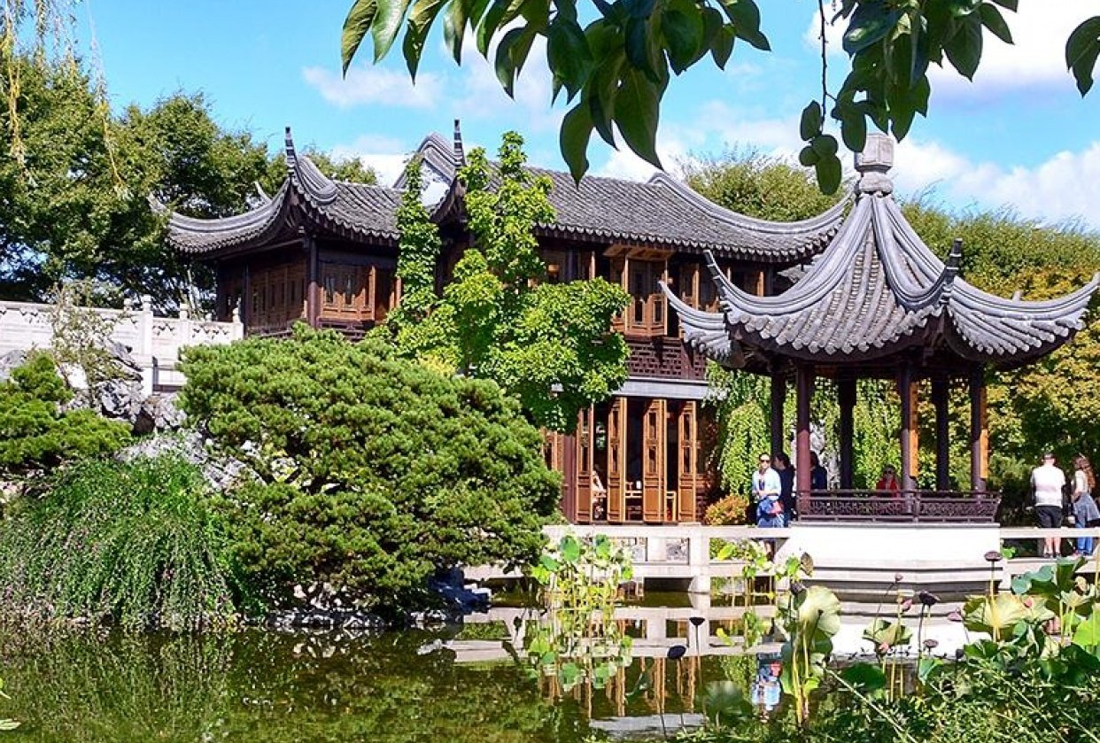 Chinese Gardens, Portland, OR. - student project