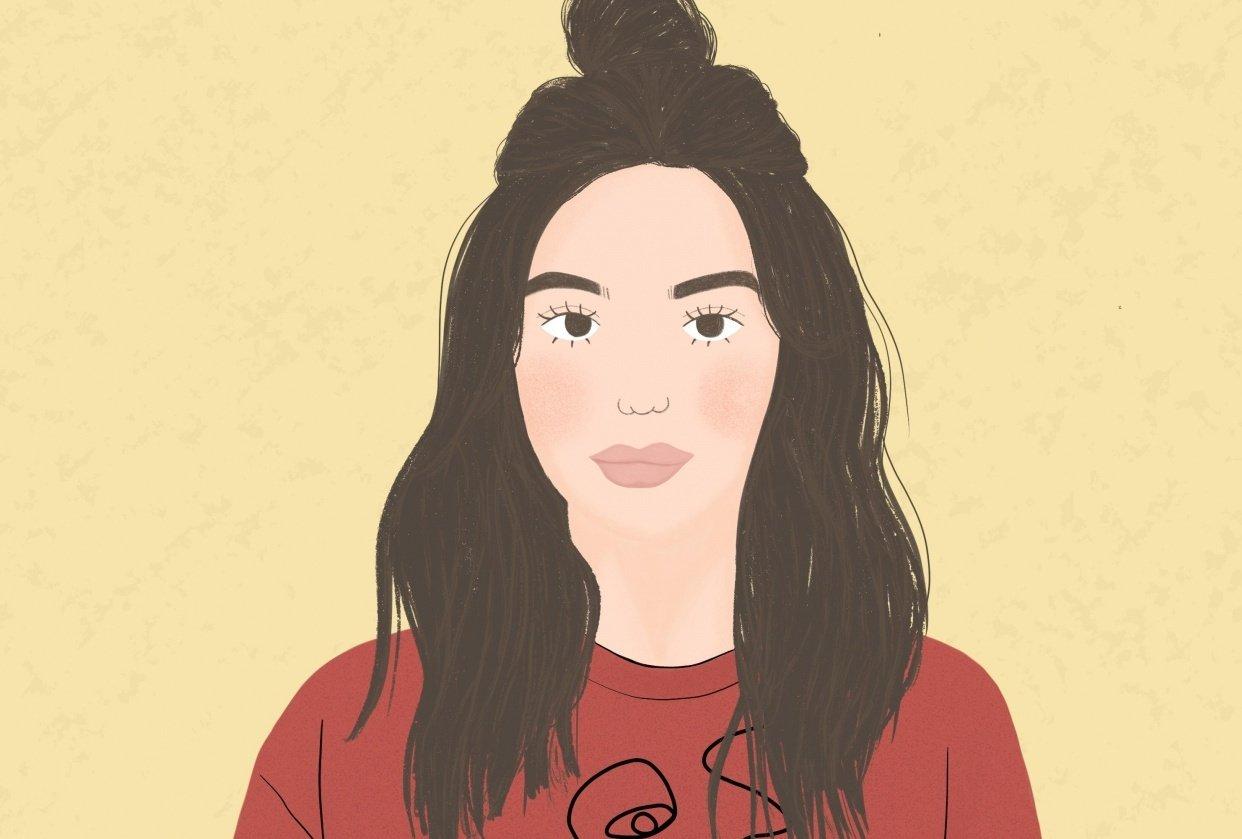 Girl Portrait - student project