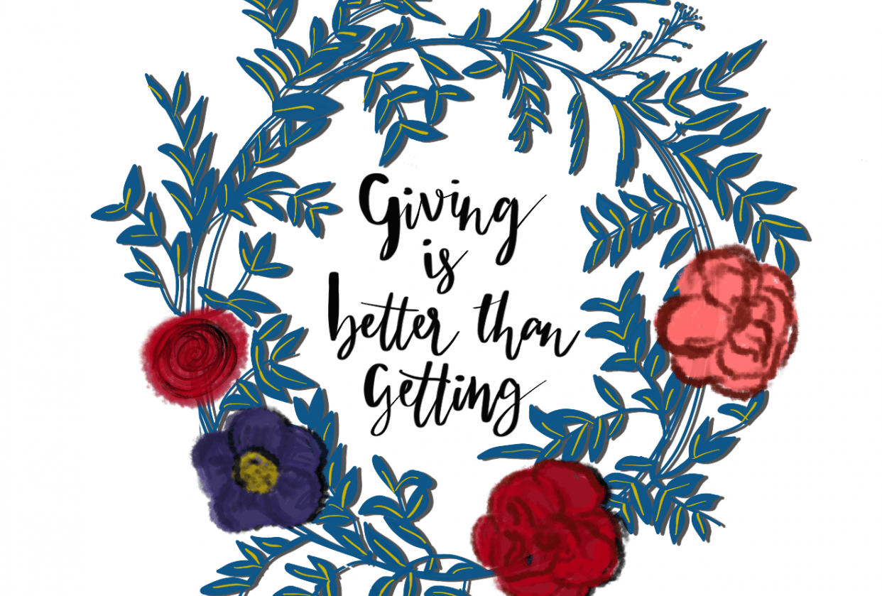 Giving is better than getting - student project