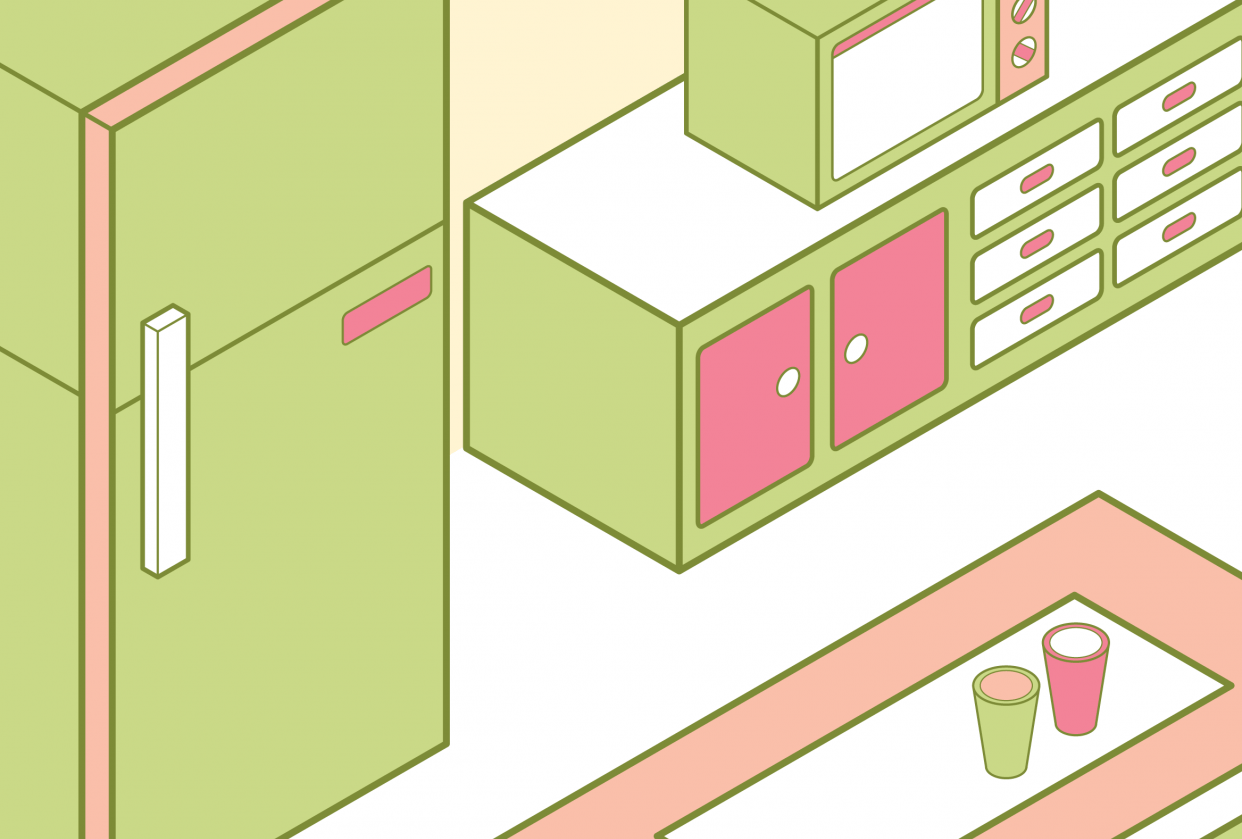 Isometric Kitchen - student project
