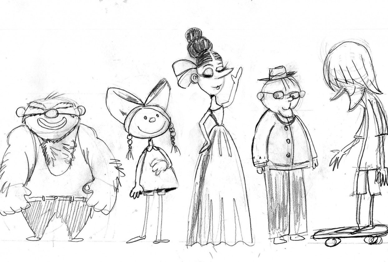 Circus characters - student project
