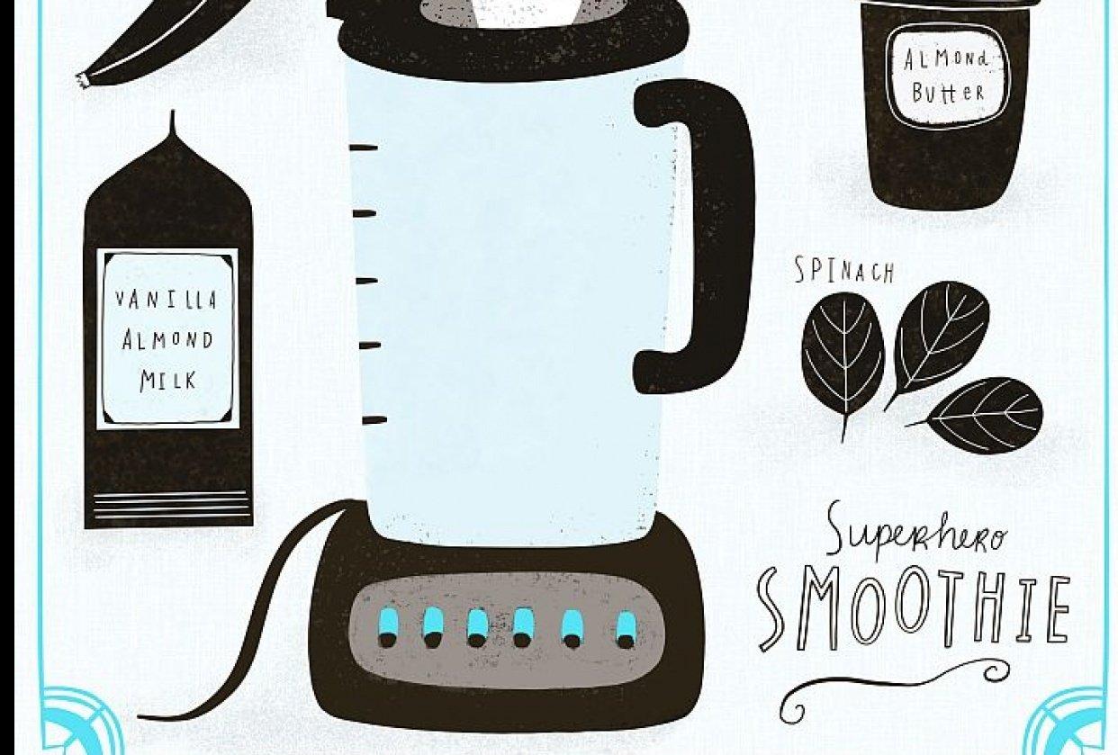 Superhero Smoothie - student project