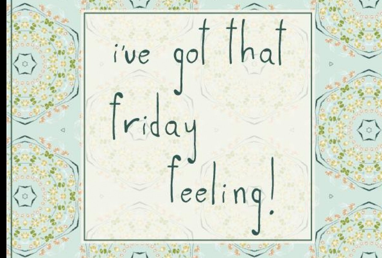 I´ve got that friday feeling! - student project