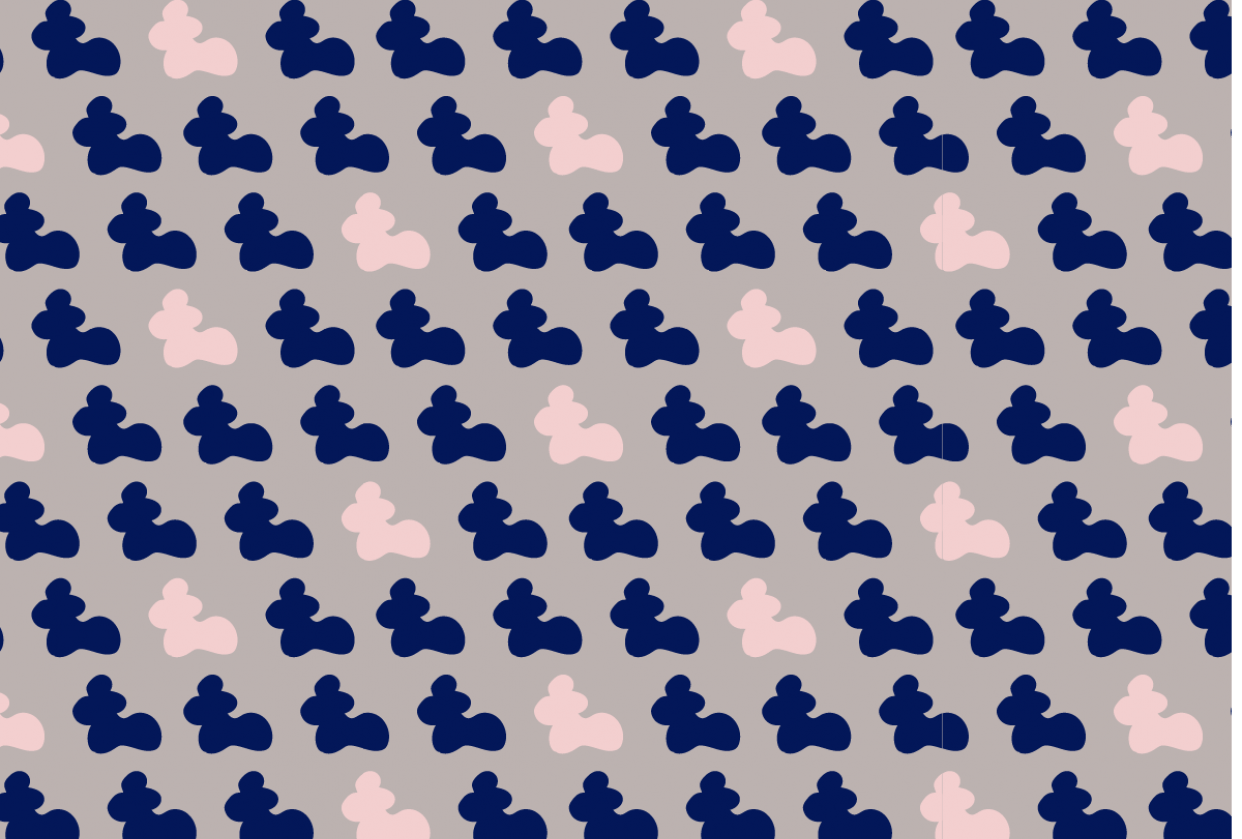 Abstract Pattern Design - student project