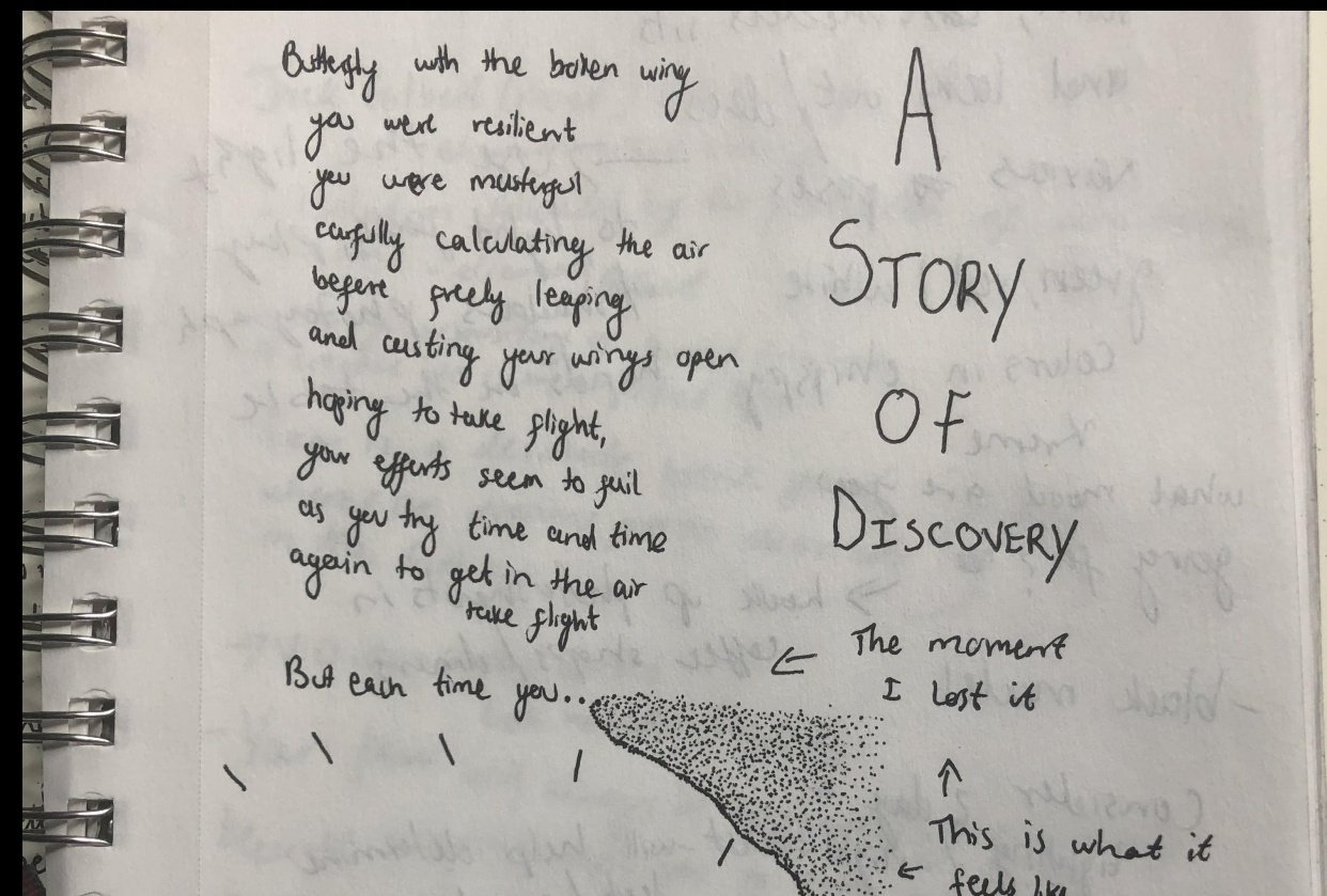 A Story of self discovery - student project