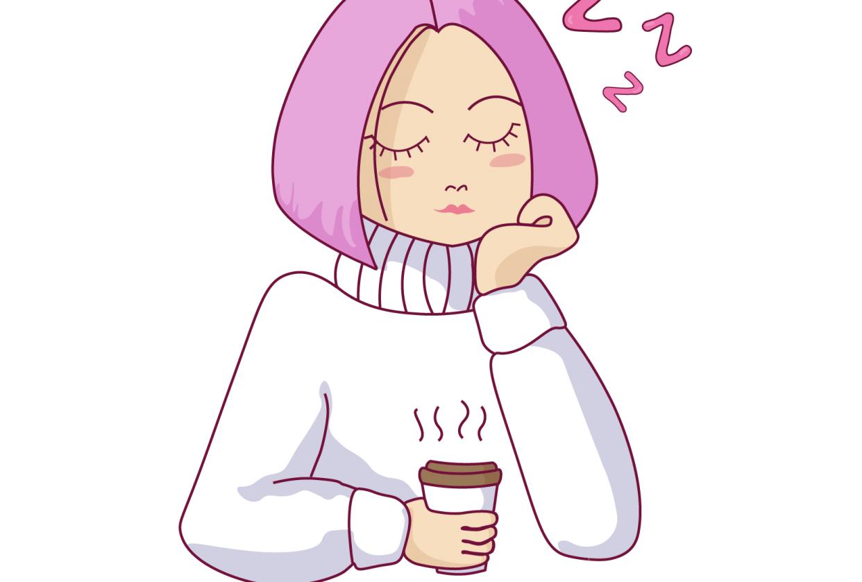 sleepin girl - student project