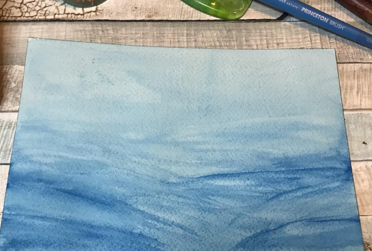 4 Ways To Paint Water - student project