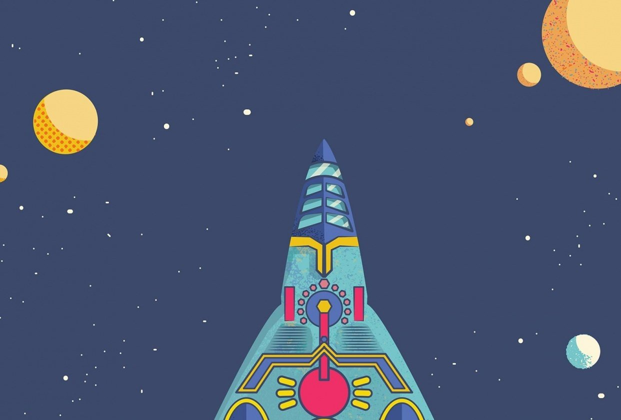 Space Rocket - student project