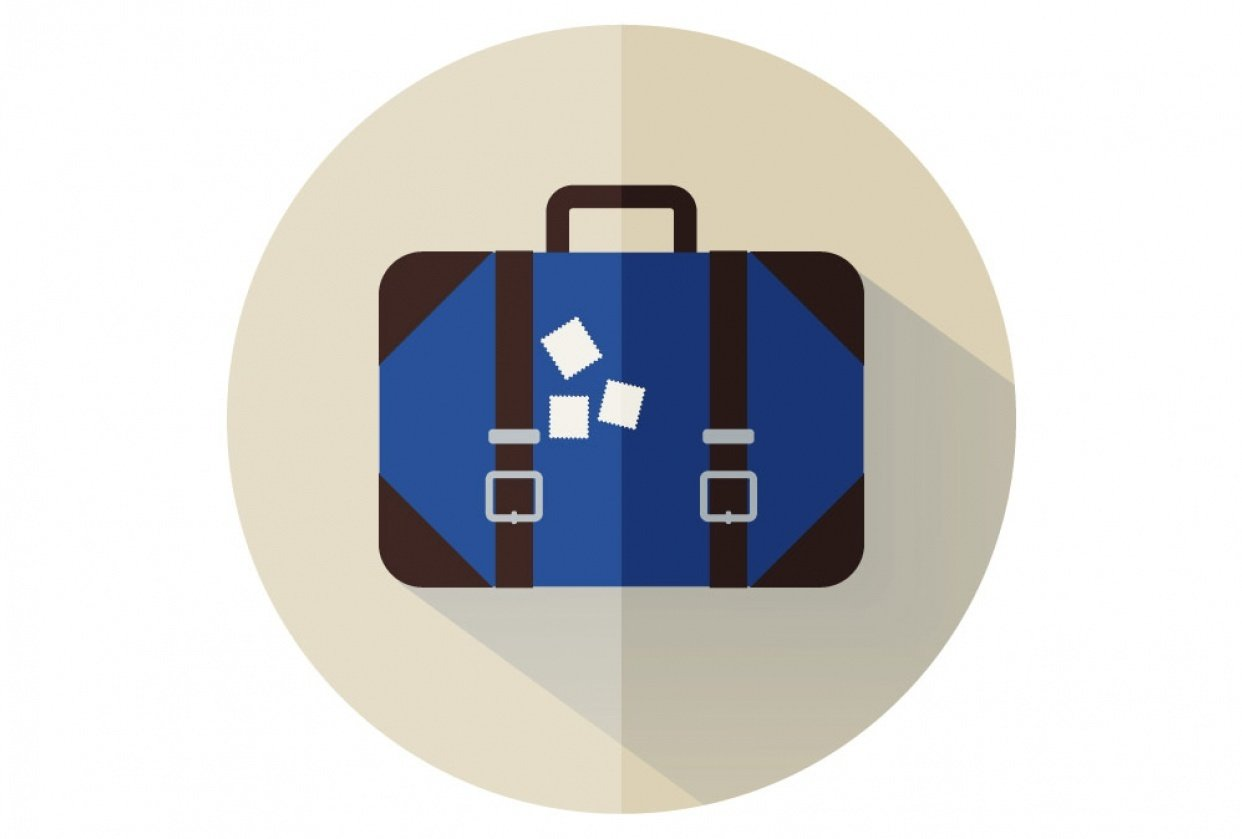 Flat Icon Luggage - student project