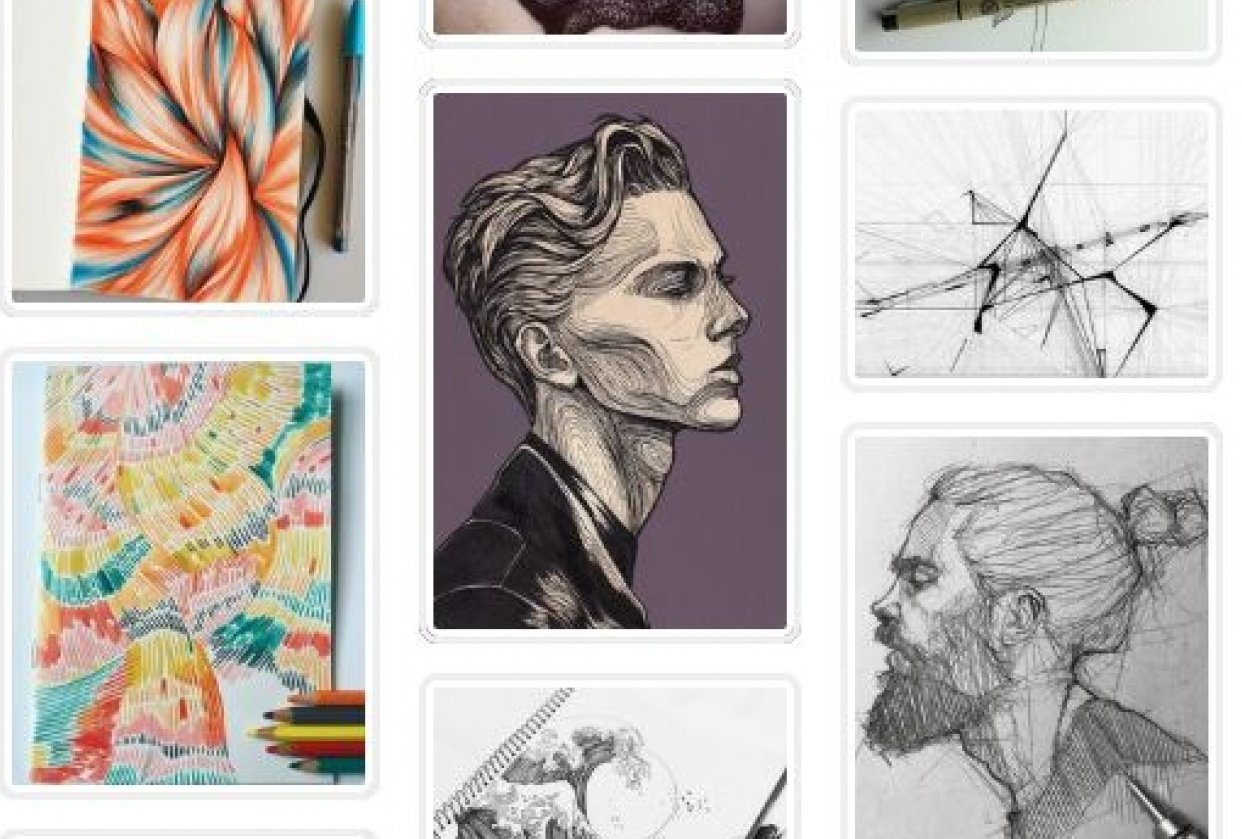 Graphic Design Scavenger Hunt - student project