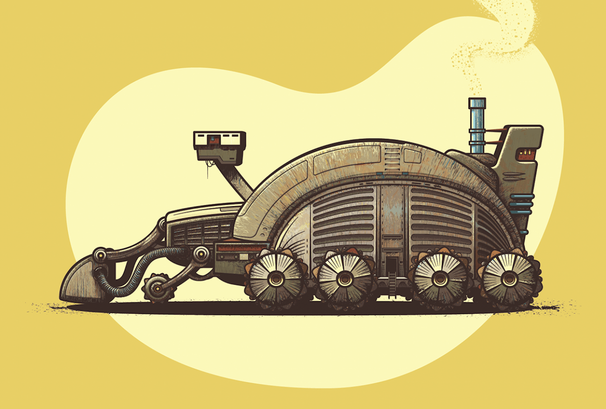 Dune Spice Harvester - student project