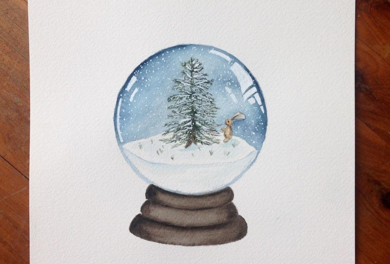 Snow Globe - student project