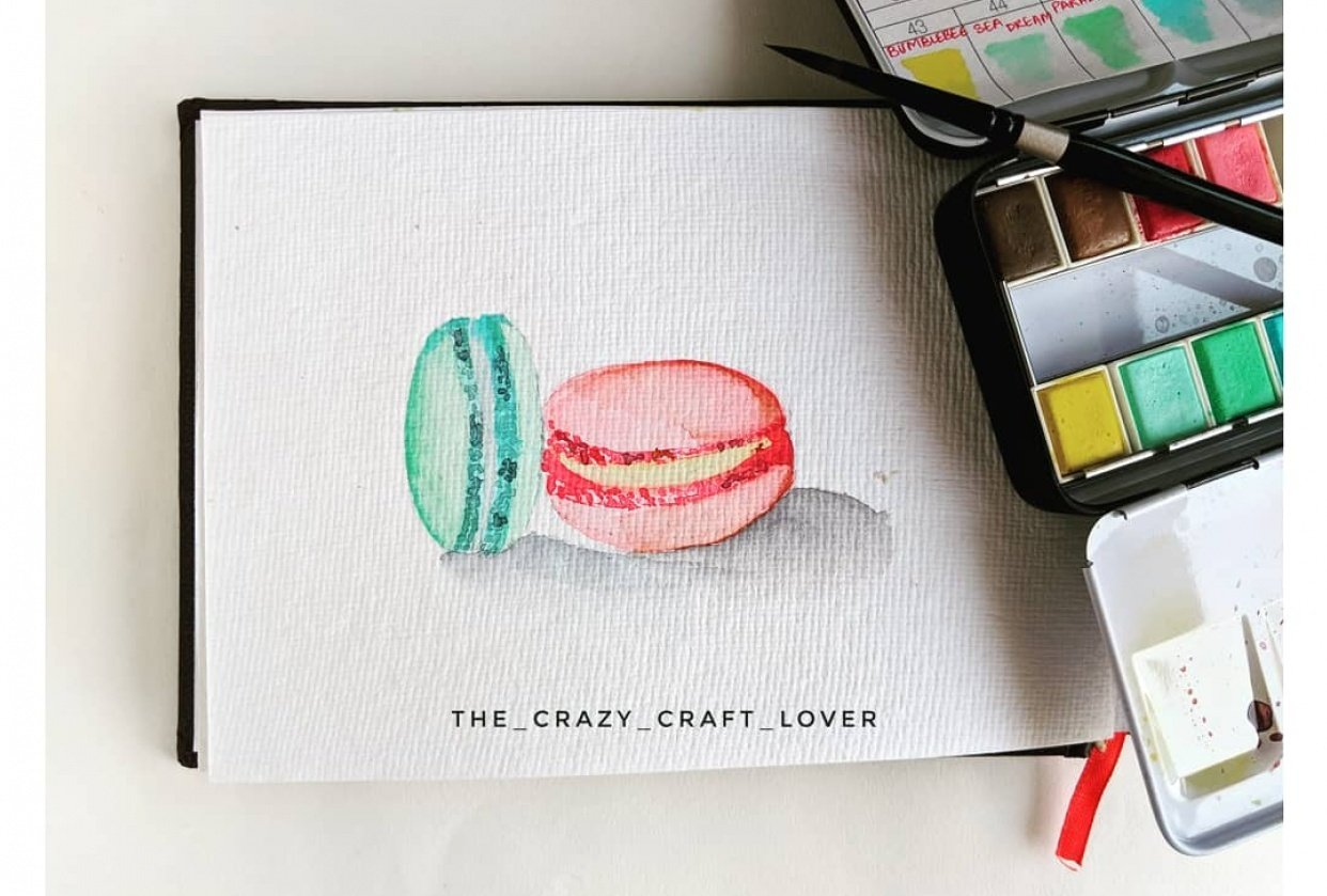Macaroons and love is all you need - student project