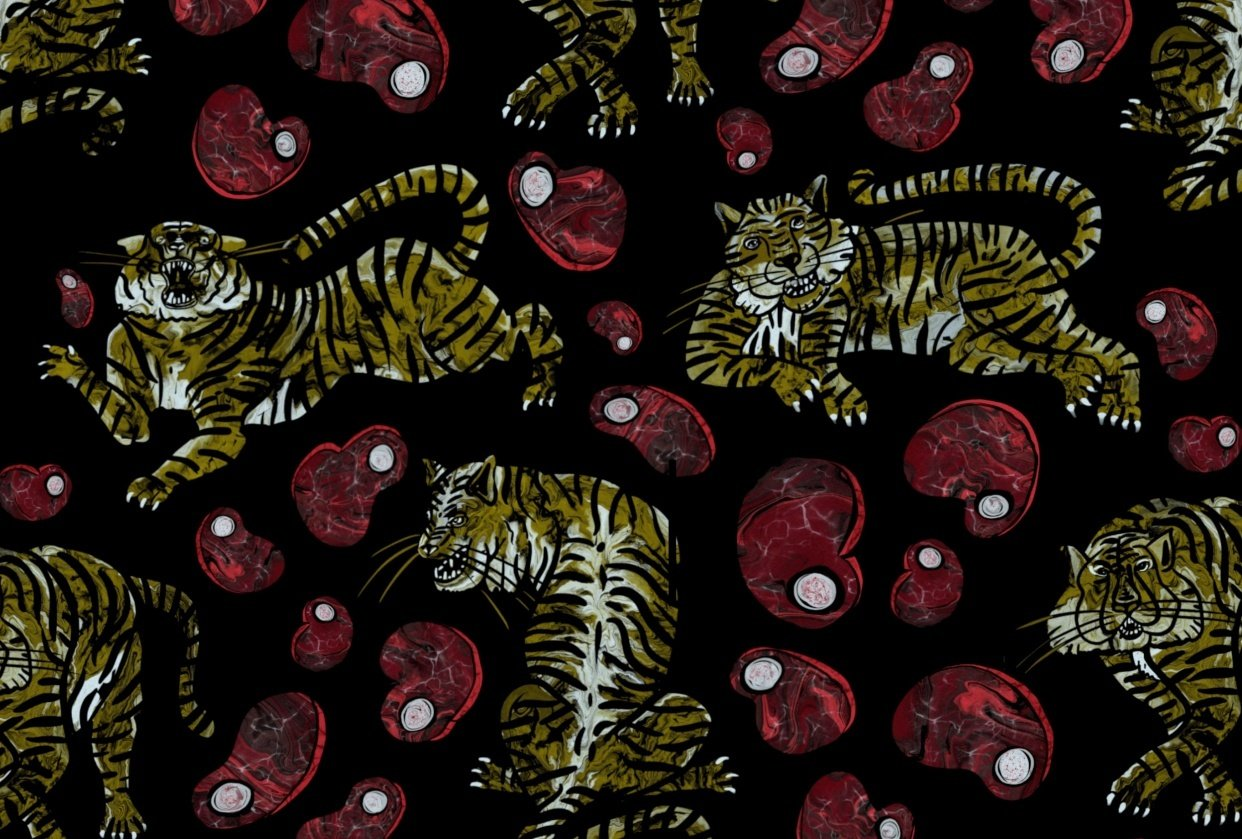 Marble Meat & Tigers - student project
