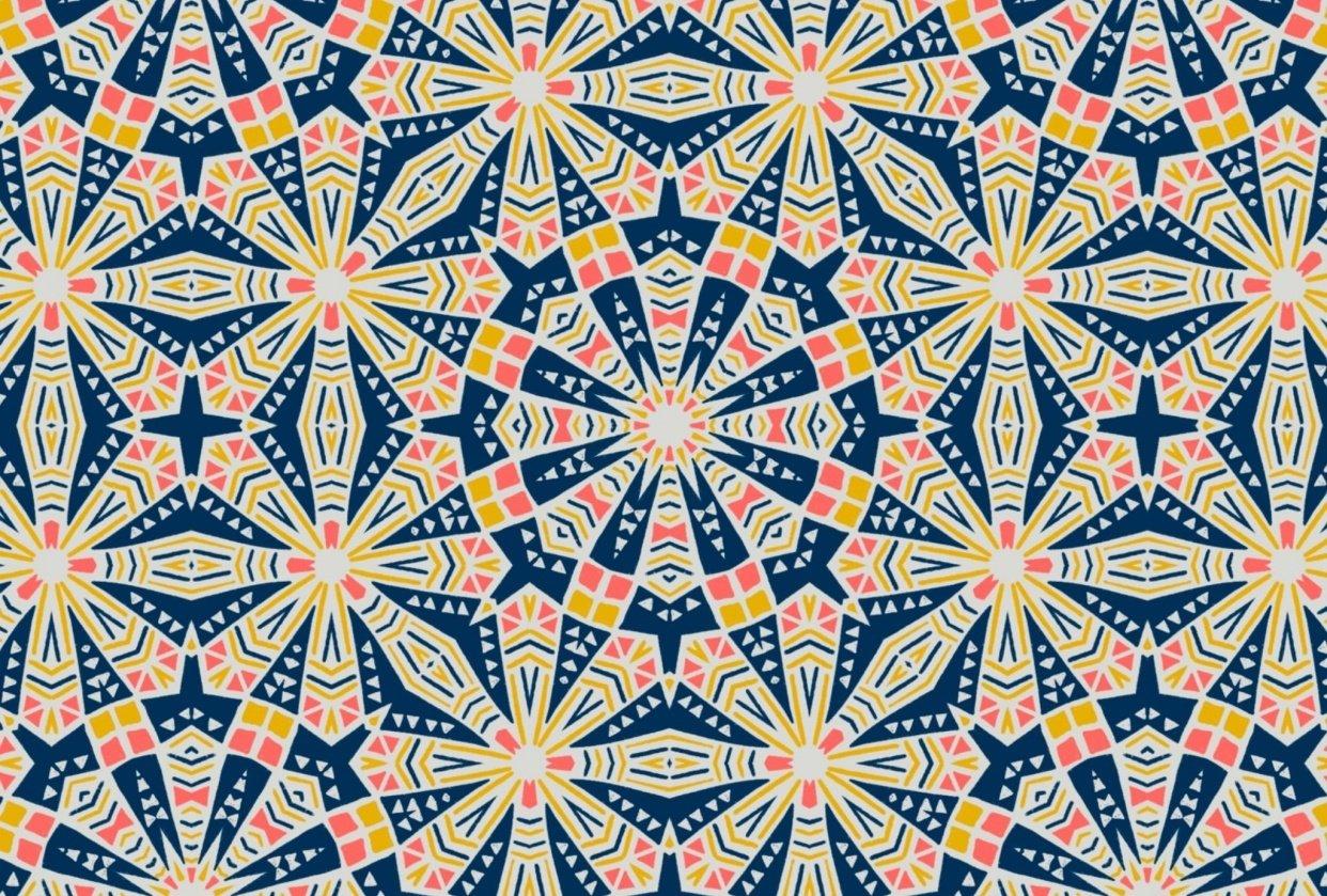 Kaleidomatic patterns - student project