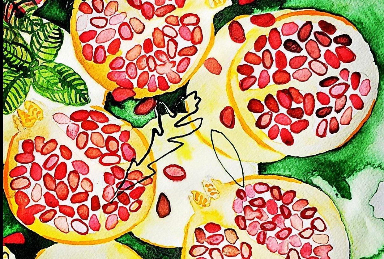 Pomegranates - student project