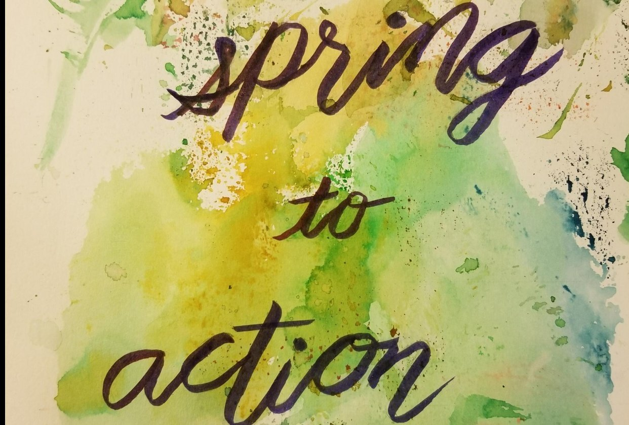 spring to action - student project