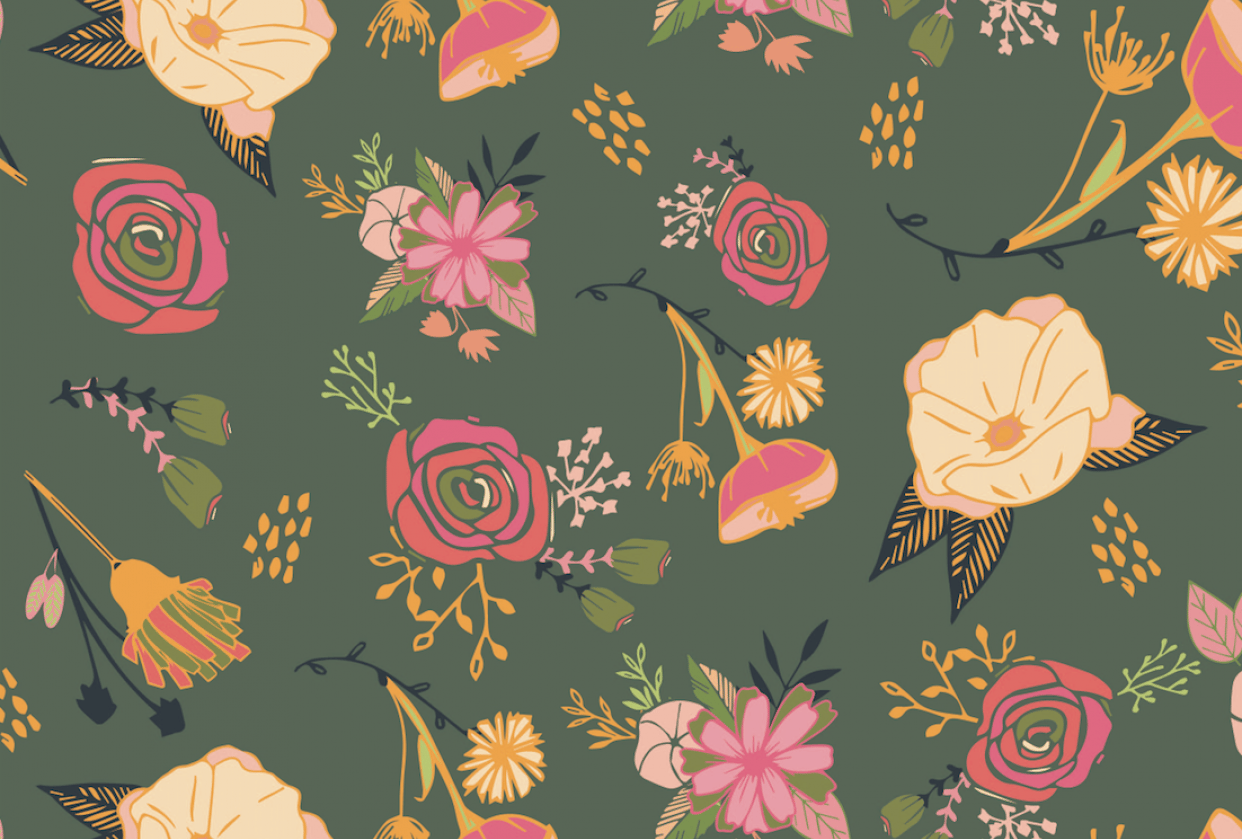 Surface Pattern Design 1 - student project