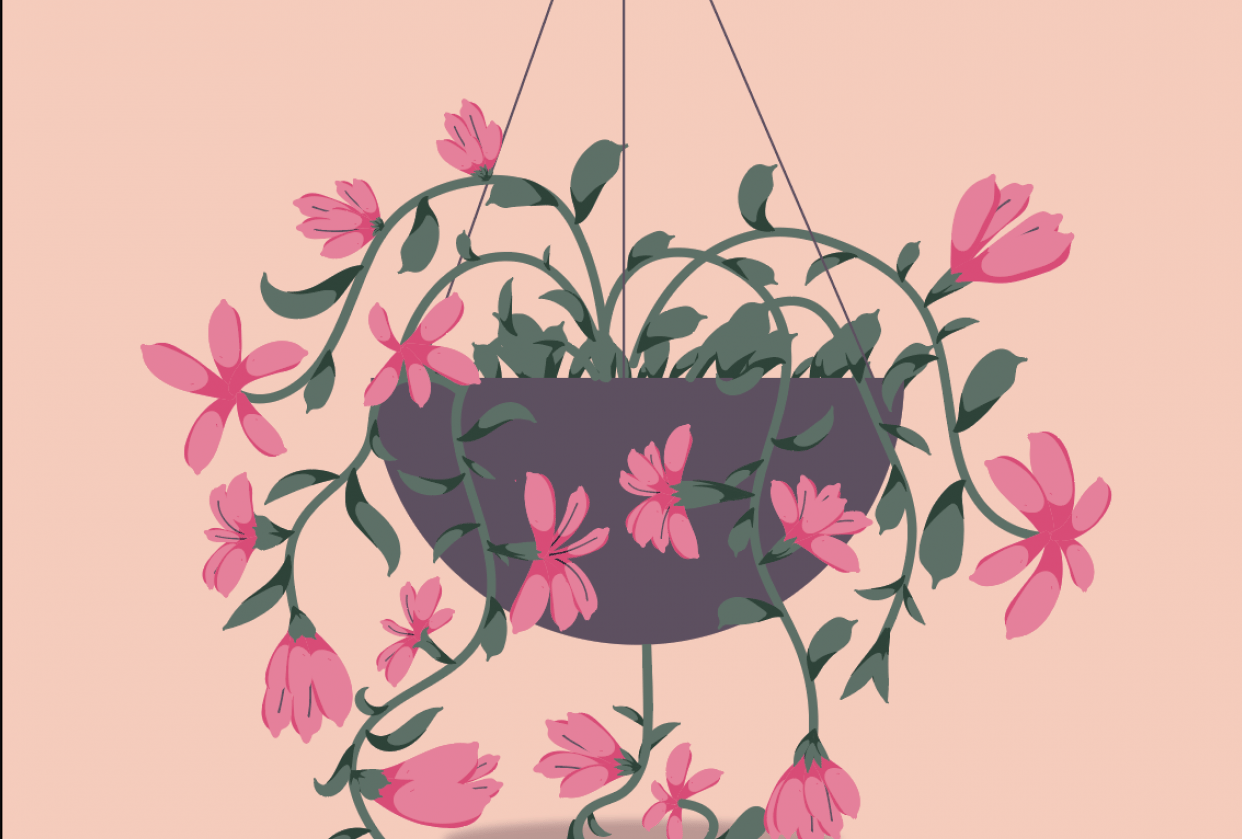Spring Flowers - student project