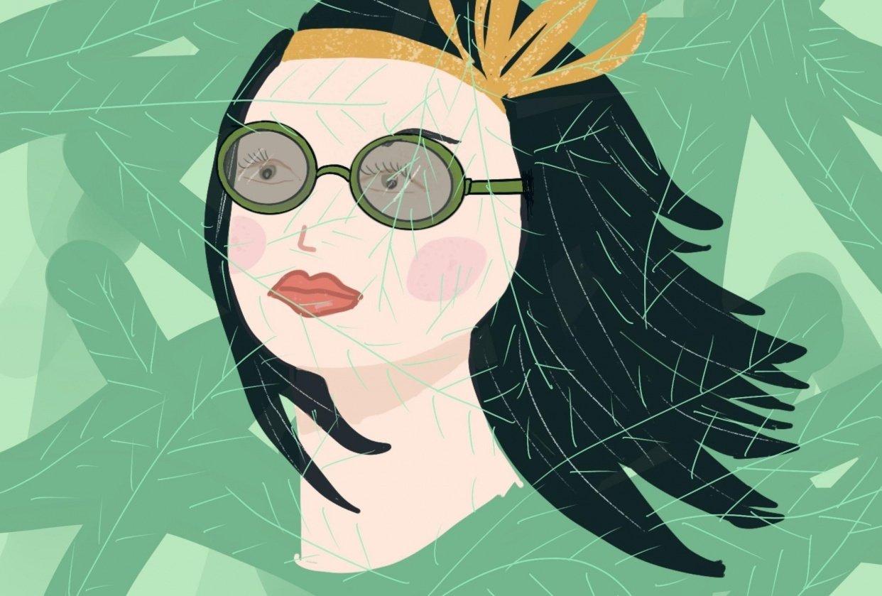 Botanical girl - student project