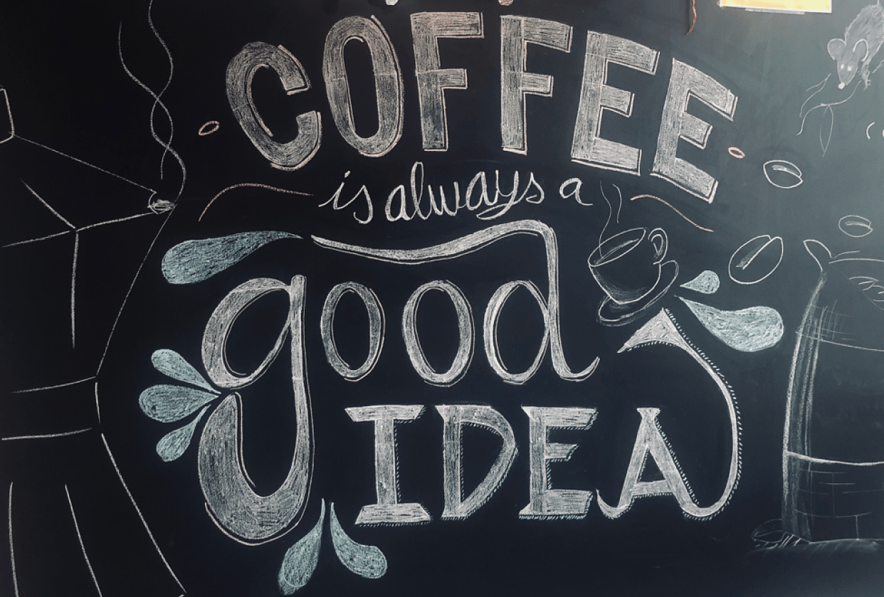 A Coffee is Always a Good Idea - student project