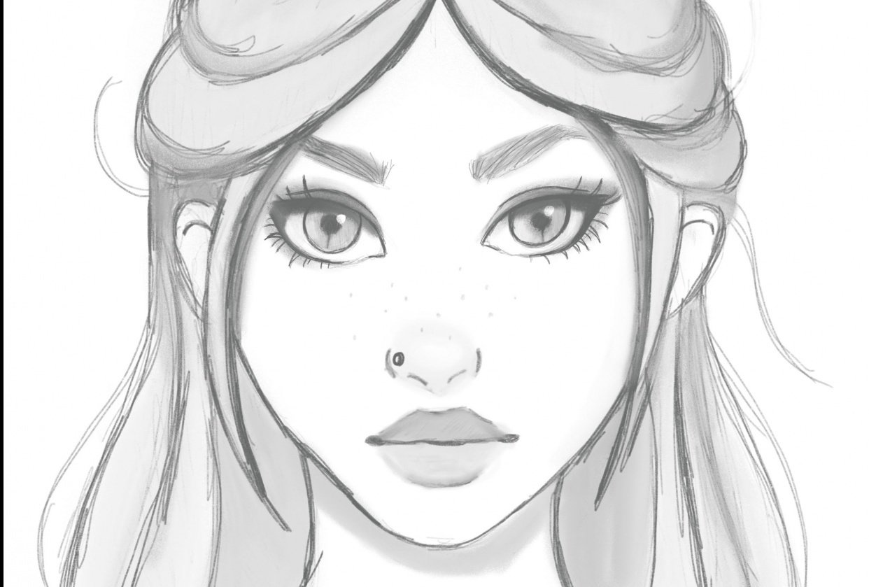 Character sketch - student project