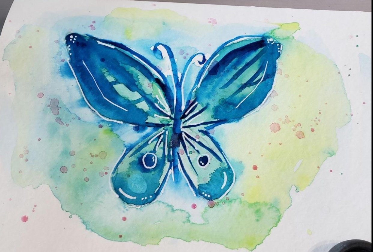 Loose butterfly - student project